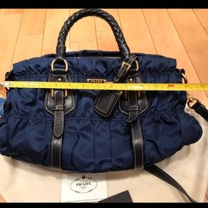 728a2f84d5cf Prada Bags - Prada sapphire blue nylon bag